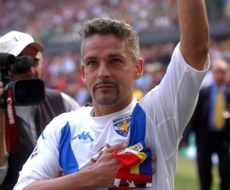 Un mito del calcio italiano compie gli anni auguri 39 divin - Una porta nel cielo roberto baggio ...