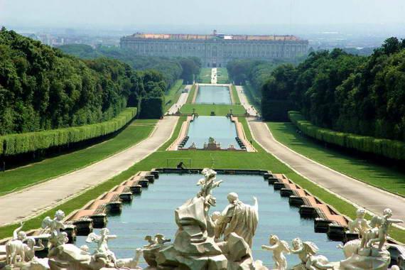 Versailles vs caserta delegazione francese in visita alla