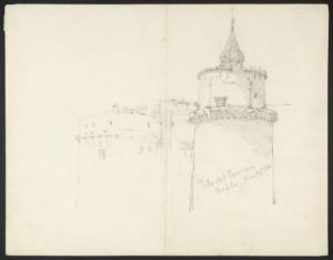 Francis_Seymour_Haden_-_Porta_del_Carmine_Naples_1844