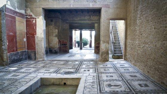Pompei boom di visitatori per le sei domus restaurate for Tipi di case in italia