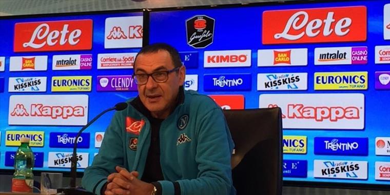 Mancini: accetto le scuse di Sarri