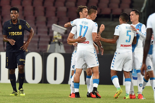 Trento-Napoli 0-4. Per ora segna Gabbiadini. Fischi a Edo De Laurentiis