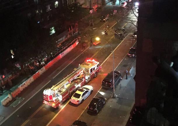 New York, violenta esplosione a Chelsea 29 feriti, trovata una seconda bomba