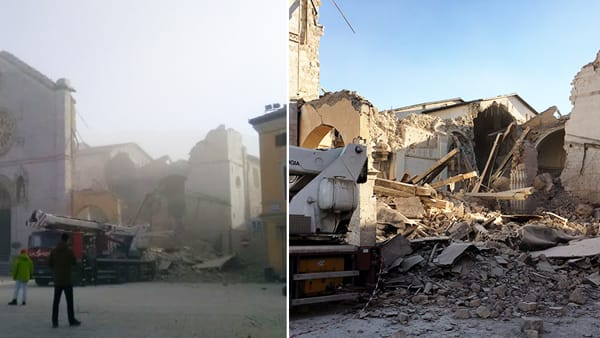 Terremoto in centro Italia. Colpita anche Roma ei Castelli