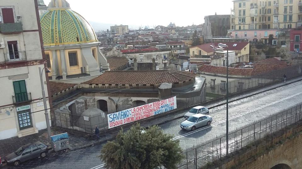 Roberto Saviano a Genova presenta il suo nuovo libro