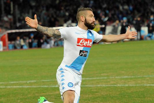 Il Napoli batte la Samp alla ripresa del campionato di serie A