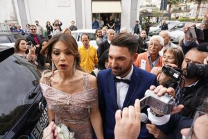 Alessia sposa Michele, prima trans a dire 'sì'