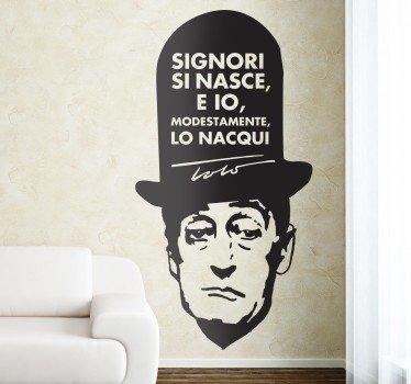 stencil-muro-frase-toto-7550 - Napolitan.it