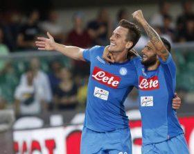 Soccer: Serie A; Hellas Verona-Napoli