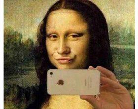selfie-gioconda