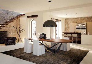 Dal classico al moderno senza snaturare la tua casa for Arredamento moderno e classico insieme