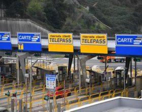 Autostrade: corsie preferenziali Telepass al casello