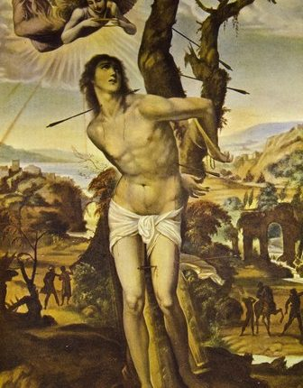 painting-of-saint-sebastian-shot-with-arrows