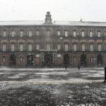 Naples under snow