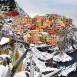 (FOTOSTAR) MANAROLA: ONDATA DI GELO IN ITALIA
