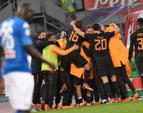 Calcio: Serie A; SSC Napoli -  AS Roma