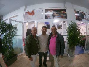 Mario Pellone, Errico Porzio e Claudio Ospite