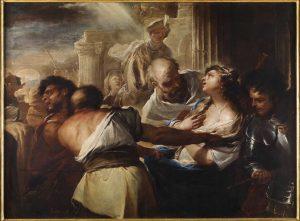 Luca Giordano_Santa Lucia condotta al martirio_1659_Museo di Cap