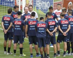 Primo-allenamento-a-Dimaro-Napoli-Calcio