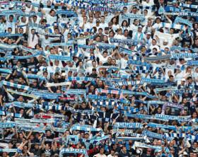 Tifosi Napoli stadio San Paolo