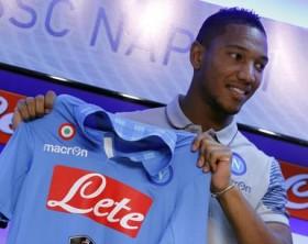 Soccer: new SSC Napoli's player, Jonathan De Guzman