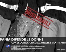 foto choc campagna affissioni Violenza Donne della Regione Campania