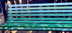 Bari Talking bench nunero zero