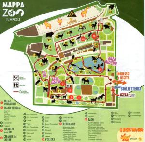 Mappa per i visitatori
