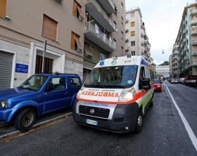 Aggressione in casa in via taggia 2/1 a prà 21/05/2012