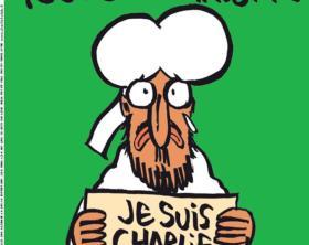 """++ Maometto in prima su Charlie Hebdo, """"je suis Charlie"""" ++ROMA"""