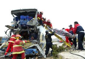 incidente bus Peru