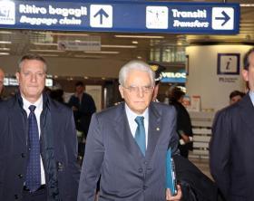 ++ Mattarella visita privata a Palermo con volo linea ++