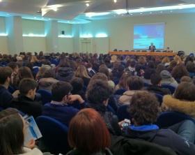 Centinaia di studenti all'open week