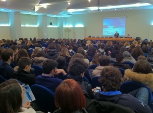 Centinaia di studenti all'open week