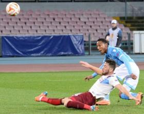 Soccer: Europa League; Napoli-Trabzonspor