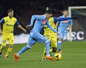 Napoli vs Chievo Verona - Serie A Tim 2013/2014