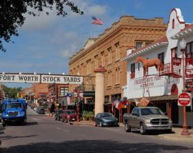 Fort Worth Stockyards Exchange Ave E Texas