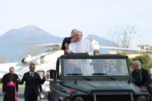 Papa Francesco a Pompei