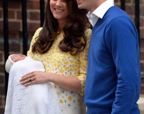 Duchess of Cambridge gives birth to a girl
