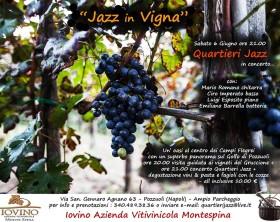 Locandina Jazz in Vigna