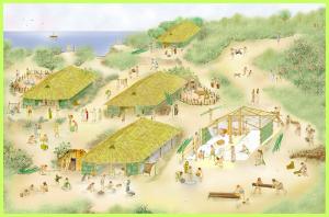 La ricostruzione virtuale del vilalggio