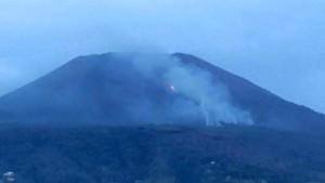 Vesuvio brucia