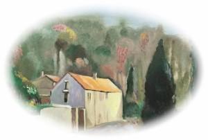 r_Vedovamazzei, The most visited place ever, (studio preparatorio per dipinto su ceramica), 2015