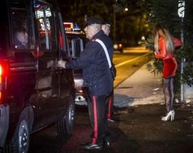 Prostituzione:controlli a Roma, 4 arresti e 120 identificati