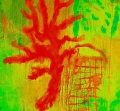 corallo, particolare da un'opera di Luigi Nappa