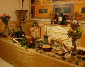 Mensa tipica antica Pompei