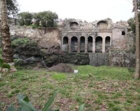Pompei, dopo piogge smottamento in scavi