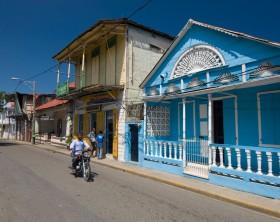 Victorian buildings in Puerto Plata,
