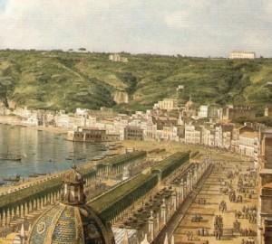 L'isolotto di San Leonardo raggiunto dalla spiaggia