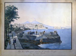 La Loggetta sul mare al posto della Chiesa di San Leonardo.
